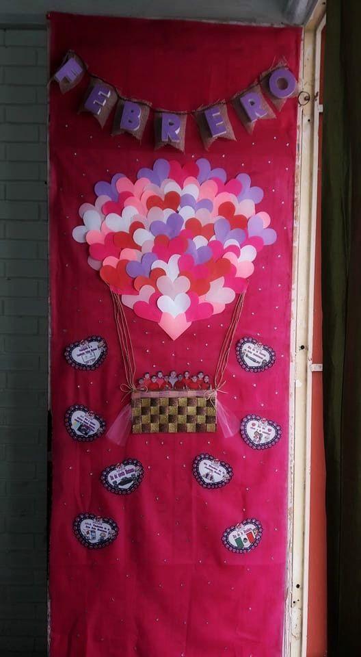M s de 25 ideas incre bles sobre puertas decoradas en for Puertas decoradas del 14 de febrero
