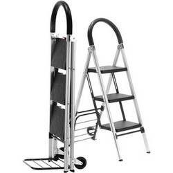 Travel Smart by Conair Ladderkart Professional Grade Combination Stepladder and Hand Cart
