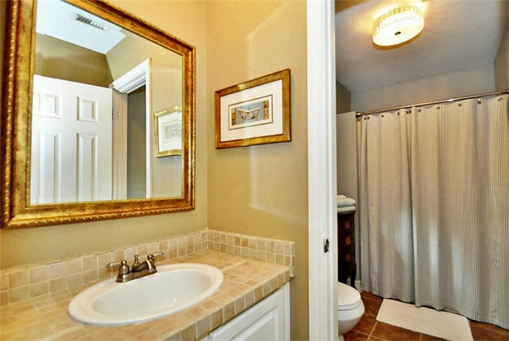 jack and jill bathroom home pinterest