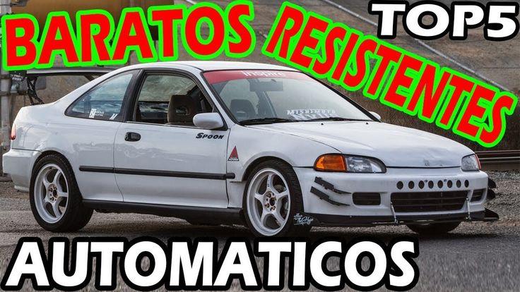 5 CARROS AUTOMÁTICOS BARATOS E RESISTENTES!