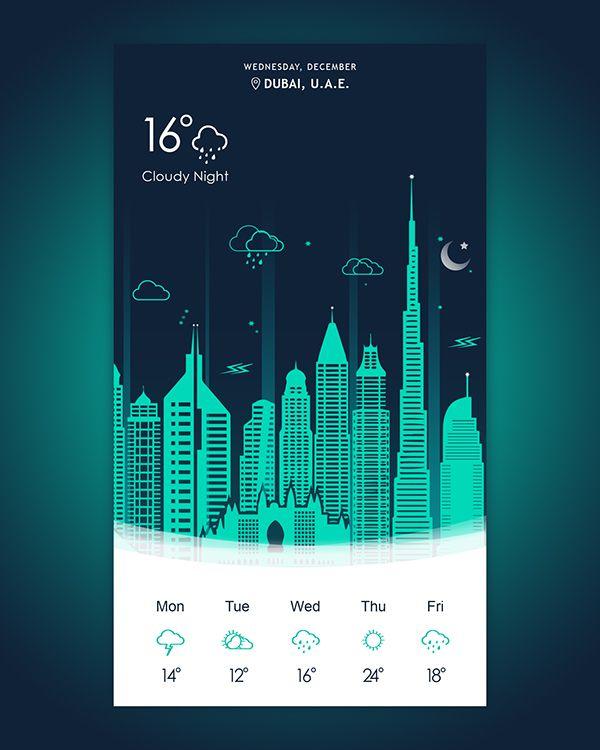 Night Weather App – App by Wasi Malik
