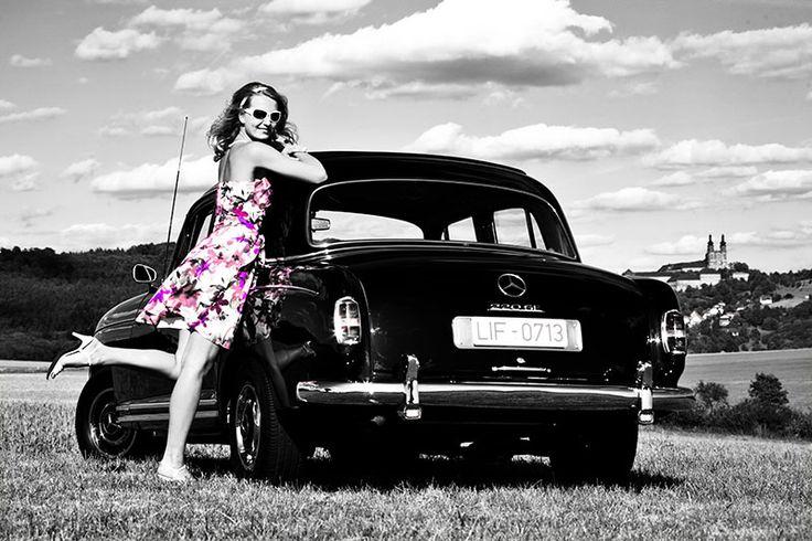 Girls & Cars - Ponton und Sommerkleid