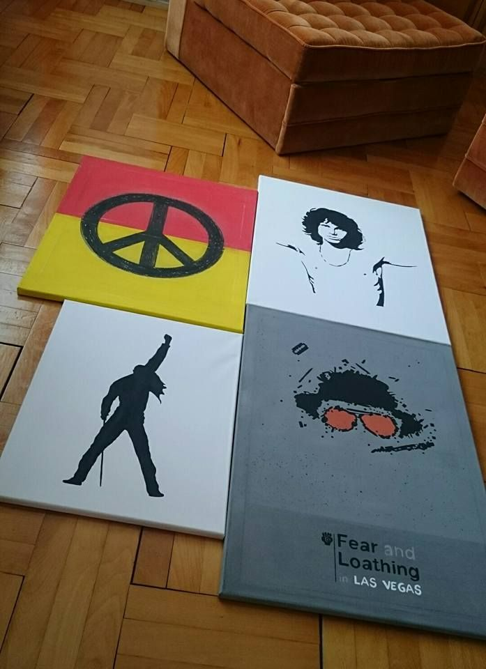 Vászonképek!  Canvas pictures! Fear and Loathing in Las Vegas Freddie Mercury Peace