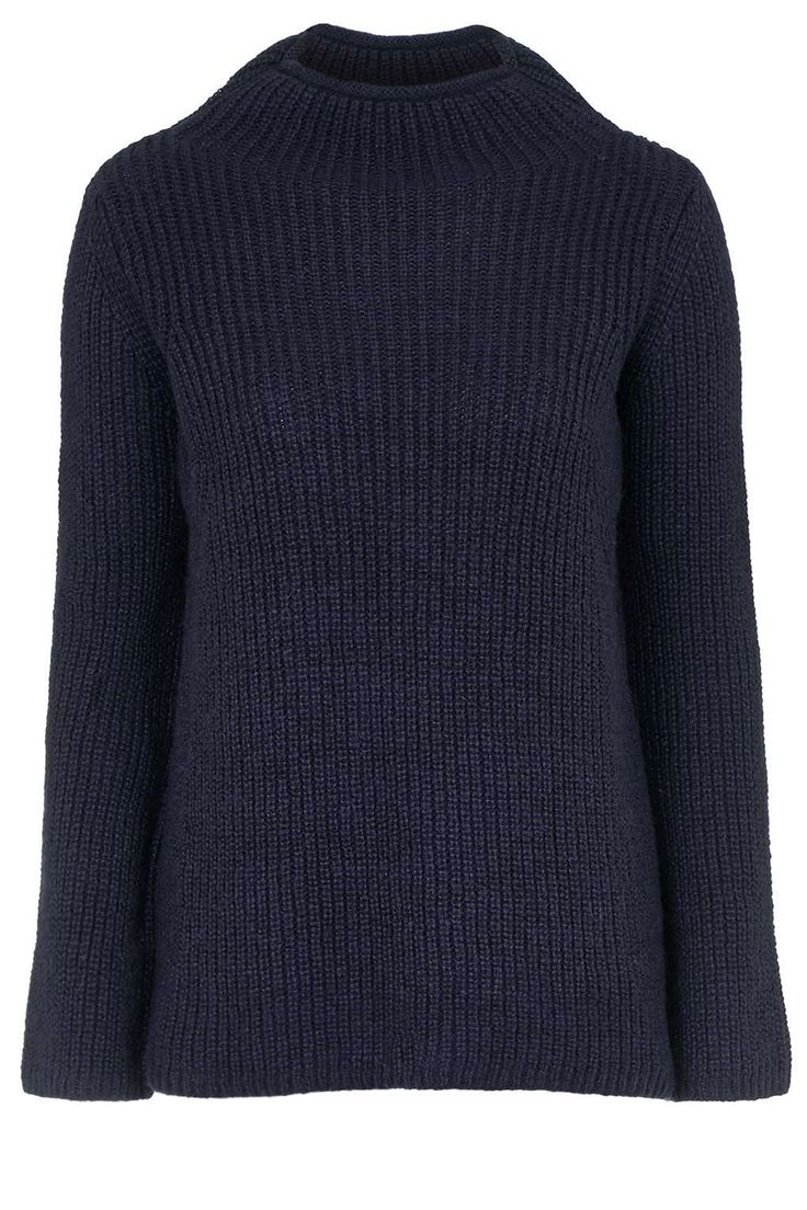 Ribbed Swing Sweater, £40, TopshopThe ideal minimalist knitwear to get your winter work wardrobe into shape.