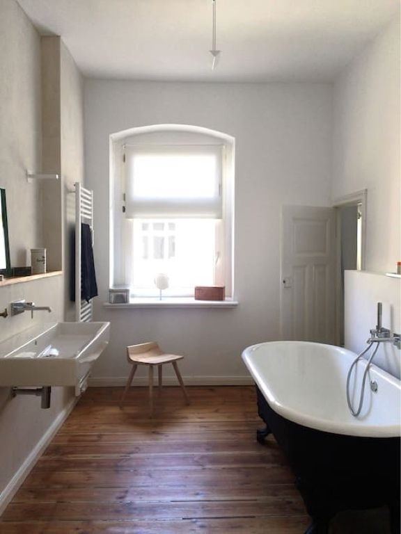 384 best Schöne Badezimmer images on Pinterest Bathtubs, Bright - holz boden und decke modern interieur