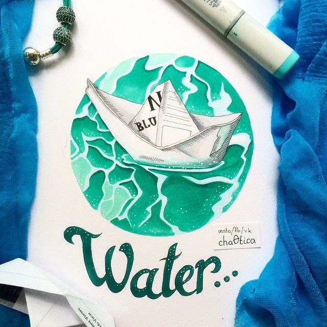 #Water is unbelievably hard to draw!