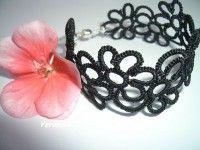 MYRA csipke, hajócsipke karkötők / tatted bracelet