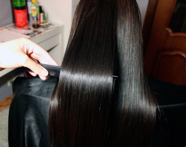 H-Brush Botox Capillar до и после #Ботокс для волос #HonmaTokyo