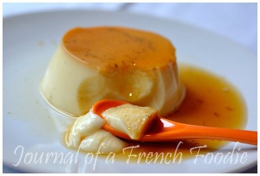 Varoma steamed crème caramel | Journal of a French Foodie