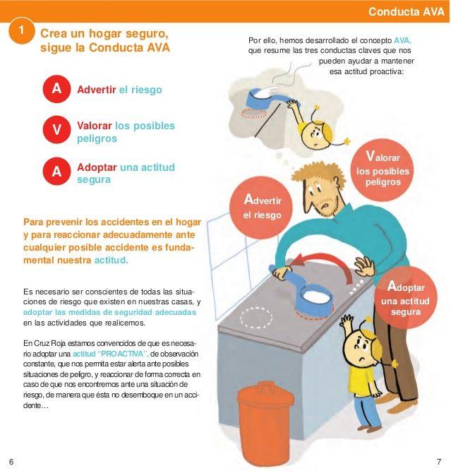 Folleto De Prevencion De Accidentes Folleto De By Folleto Hogar