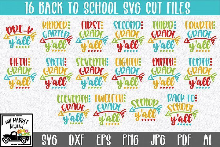 Eps Jpg Summer break svg Png Dxf See yall in the fall svg Last day of school Cut file School graduation svg Teacher svg School SVG