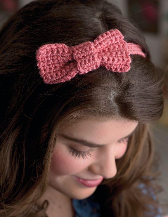 Free pattern! A super-sweet bow - Simply Crochet