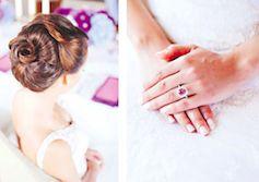 A bride wearing a Kulmala ring in Häät summer-fall 2015 issue | Photographer Michaela Egger| http://www.haat.fi/haat-lehti/ #häätlehti