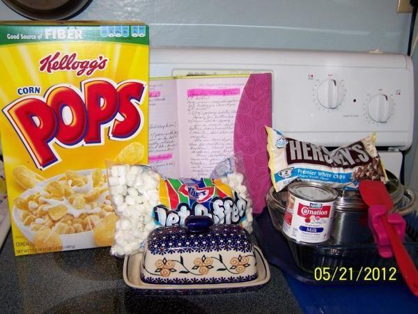 Corn Pop Treats...by Cin Recipe