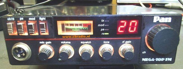 CB Funkgerät Pan MegaTop FM Gebraucht