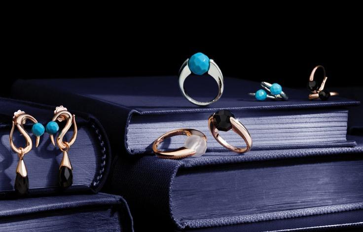 Orecchini e anelli Nuova Collezione AVA di QUERIOT