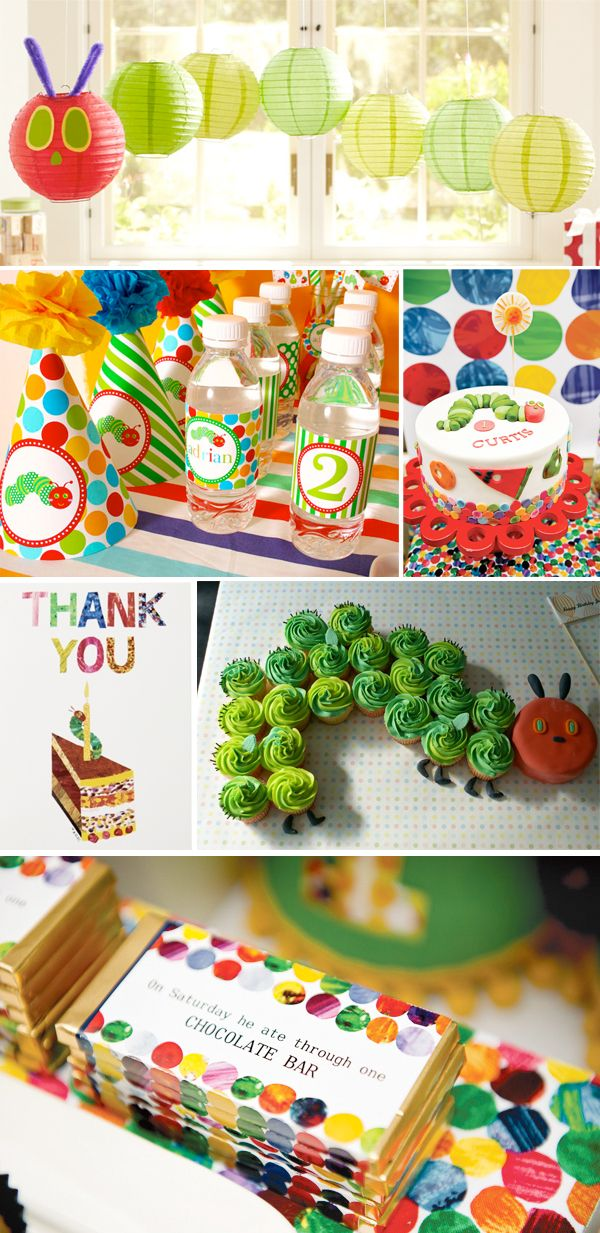 The Very Hungry Caterpillar Party Inspiration