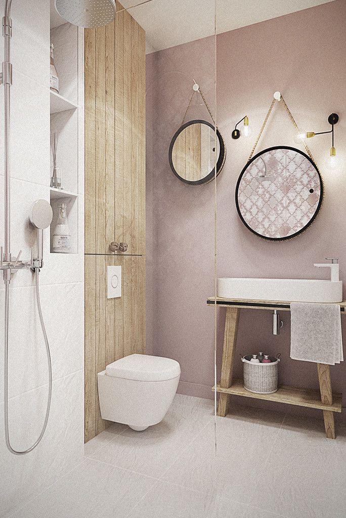 Wrocław / Grabiszynek, apartament 92m2 : Eklektyczna łazienka od razoo-architekci