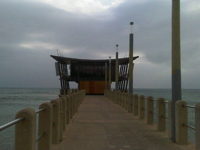 'the long walk' to moyo uShaka Pier