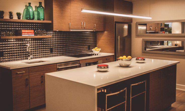Tamarack Wellington Model Suite Kitchen #condo #homedecor #inspiration