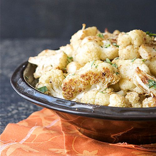 Roasted Cauliflower with Indian Spices (Cumin & Coriander) / Cookin ...