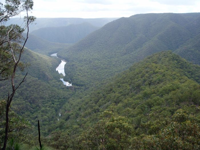 Shoalhaven River and Gorge - Bungonia National Park