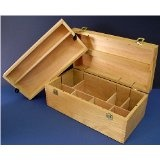 Wooden Art Supply Chest (Office Product)