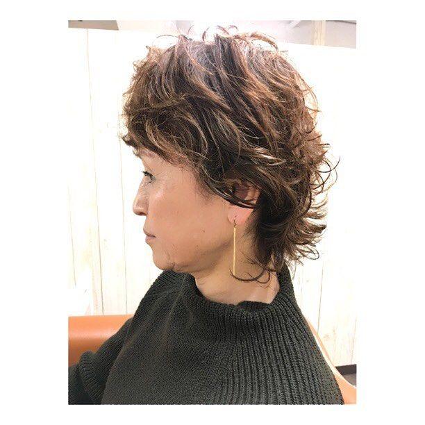ショートレイヤーパーマ かっこいいスタイルがめちゃ似合います @souta.kawahara  #美容室 #creer_for_hair #鹿児島 #鹿児島美容室 ##beauty #fashion #curly #instahair #hairstyle #hair #撮影モデル募集 #サロンモデル募集