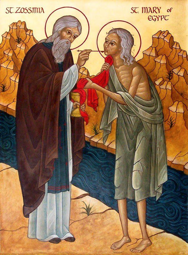 St. Mary Egypt & St. Zosima