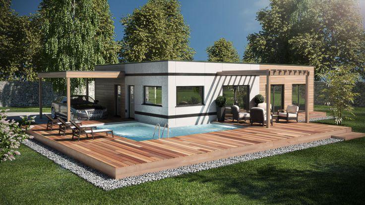1000 ideas about plan maison ossature bois on pinterest plans de maisons e - Fabricant maison container ...