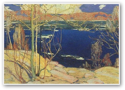 Tom Thomson  Spring Ice