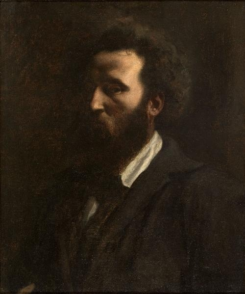 Puvis de Chavannes, Pierre-Cécile (Lyon, 14/12/1824 - Paris, 24/10/1898) 1857, Autoportrait