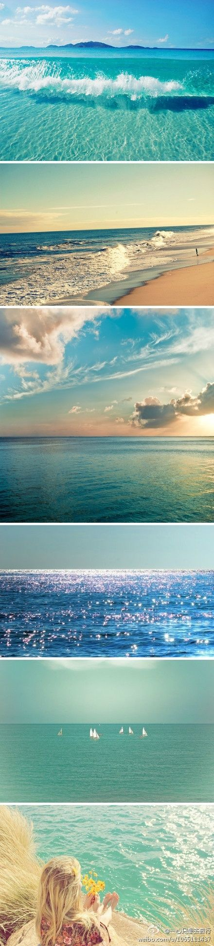 Love this ocean inspired mood board