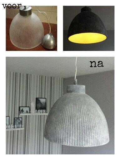 10 beste idee n over doe het zelf lamp op pinterest cloud lichten verlichting idee n en doe - Lichten ikea schorsingen ...