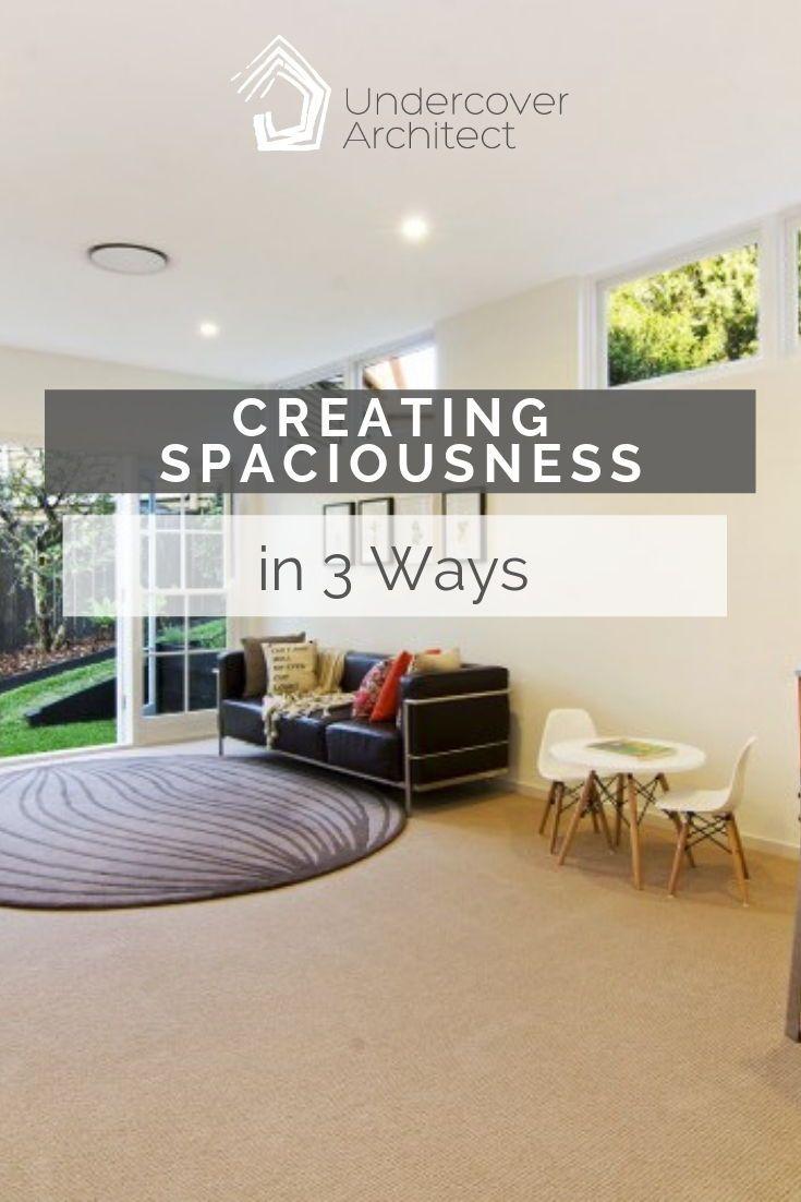 Creating Spaciousness In 3 Ways Interior Design Courses Online