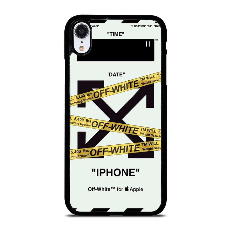 Off white icon iphone xr case in 2020 iphone white