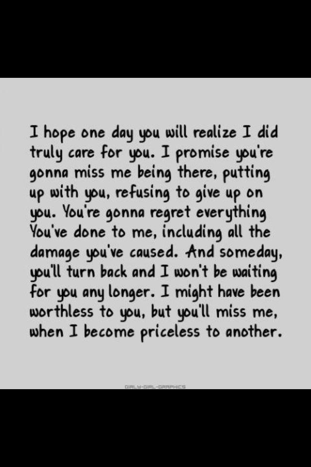 I wish i could turn back