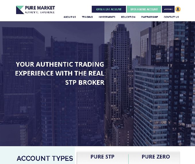 Pure market broker - Deep Market Liquidity with a pool of 21 Providers between Banks and ECNs.