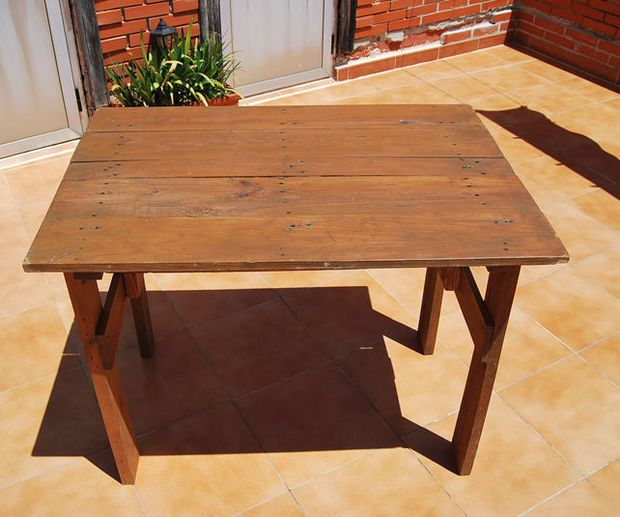 mesa plegable para terraza folding table terrace