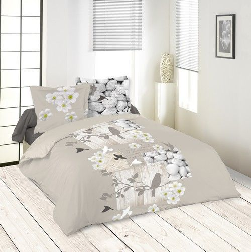 housse couette et 2 taies