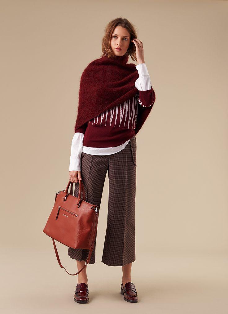 Mohair capelet - Sweaters & Cardigans | Adolfo Dominguez shop online