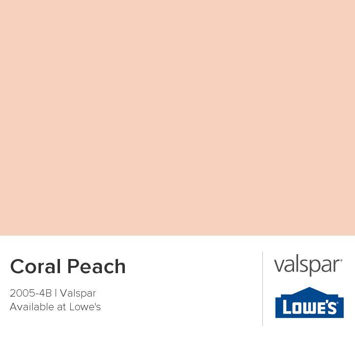 Coral Peach from Valspar