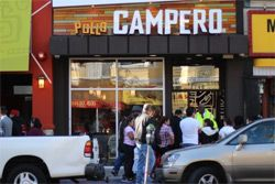Pollo Campero - Guatemalan chicken place in SF 24th & Mission....... POLLO CAMPERO FOR GUATEMALAN'S IS LIKE KFC FOR AMERICANS.