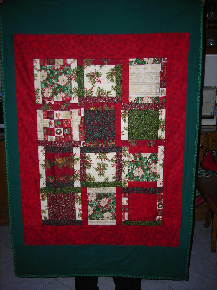 scaldotto patchwork natalizio