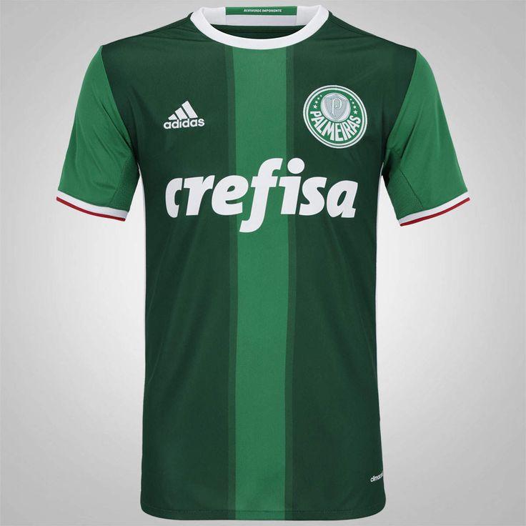 Camisa do Palmeiras I 2016 adidas - Masculina http://compre.vc/v2/251cfdb4 #PreçoBaixoAgora #MagazineJC79 #BlackFriday