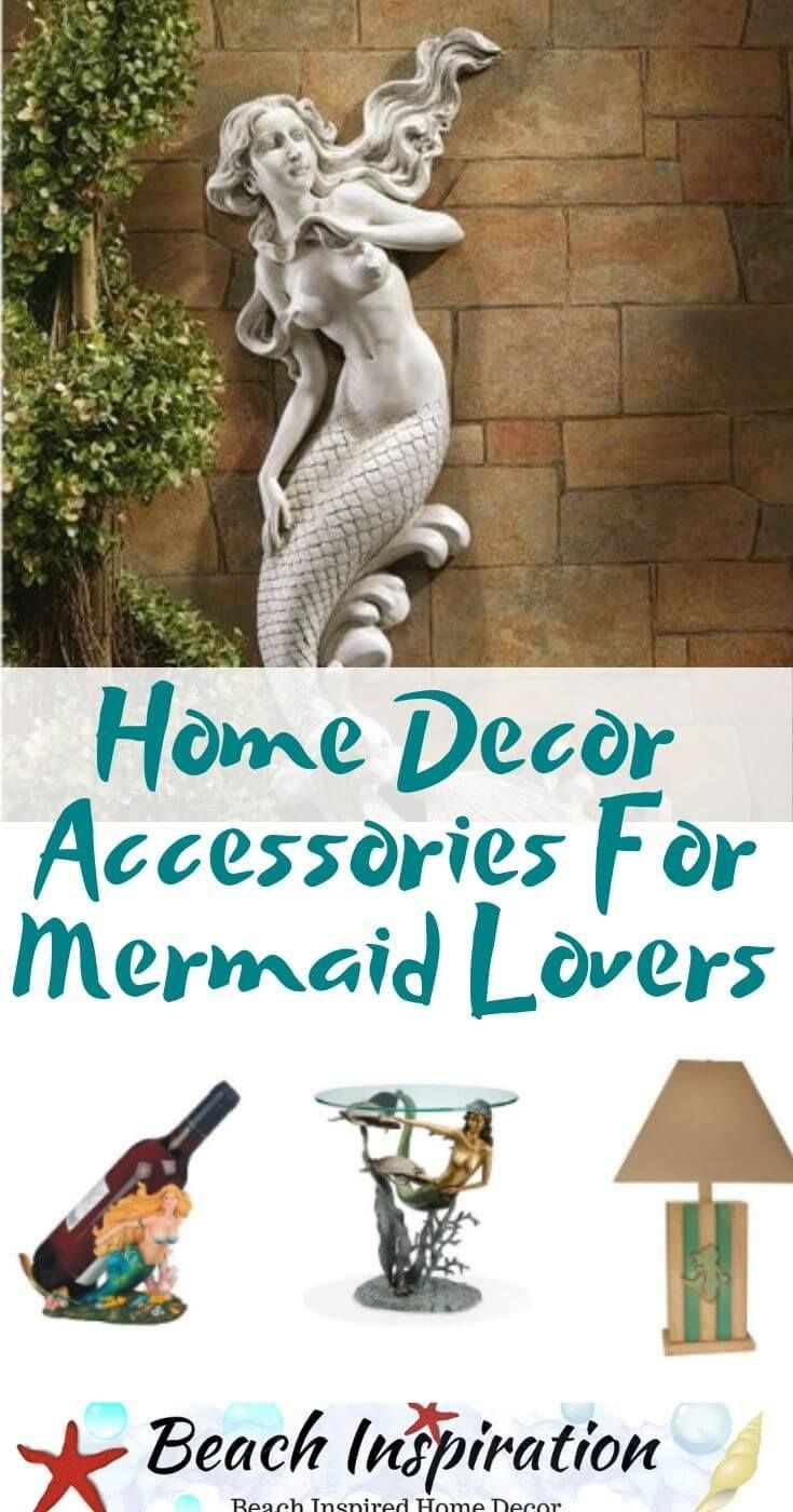 45 Home Decor Accessories For Mermaid Lovers Mermaid Room Decor