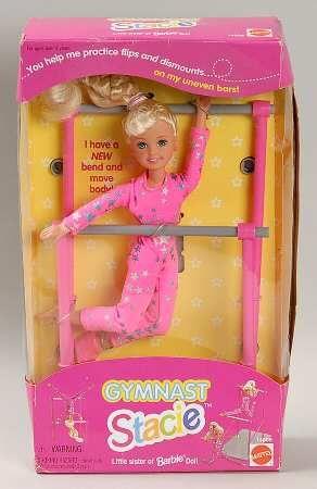 90s Stacie Gymnast Barbie Doll