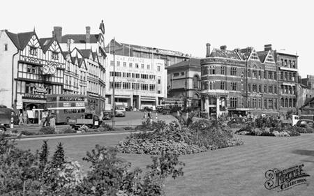 City centre 1950