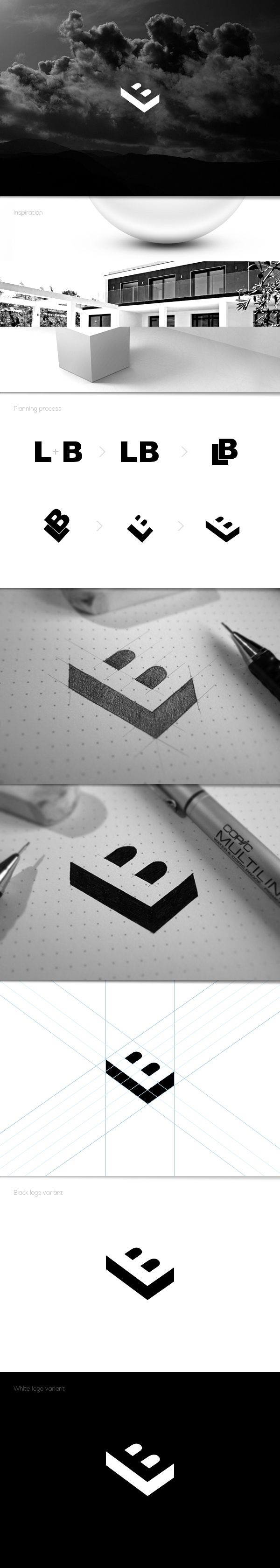 Béla Lajos || BL || LB || #logo #process #identity