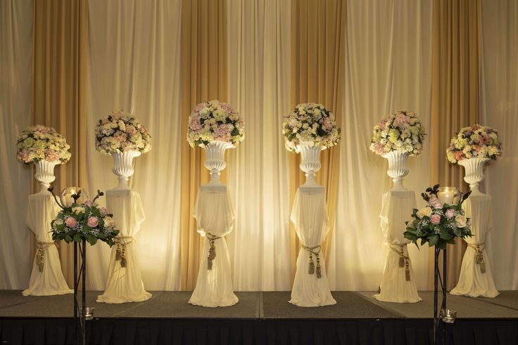 American Wedding Stage Decoration - Elegant American Wedding Stage Decoration, Wedding Decorations Flower Decorations Stage Backdrop Designs
